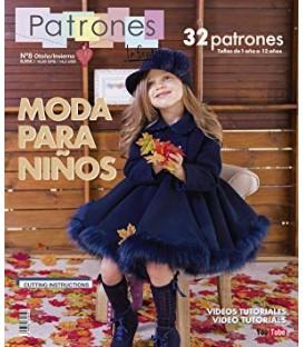 REVISTA PATRONES INFANTILES N.8 INVIERNO