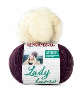 LADY LAME DE MONDIAL CON POMPOM