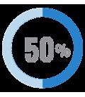 50% Lana